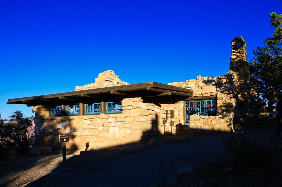 Lookout Studio, Grand Canyon Village, South Rim, Grand Canyon, Grand Canyon National Park, AZ, USA, fotoeins.com