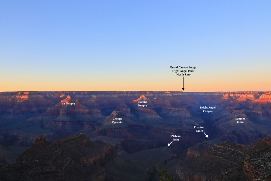 South Rim Trail, Grand Canyon Village, South Rim, Grand Canyon, Grand Canyon National Park, AZ, USA, fotoeins.com