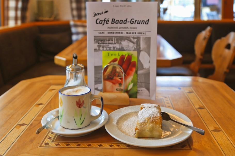 Cafe Baad-Grund, Baad, Kleinwalsertal, Vorarlberg, Österreich, fotoeins.com