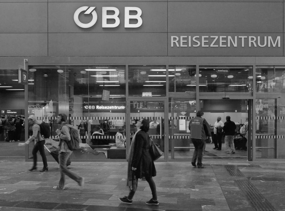 Wien Hauptbahnhof, Wien Hbf, Vienna Central Station, ÖBB, Oesterreichische Bundesbahnen, Austria Federal Railways, Vienna, Wien, Austria, Oesterreich, fotoeins.com