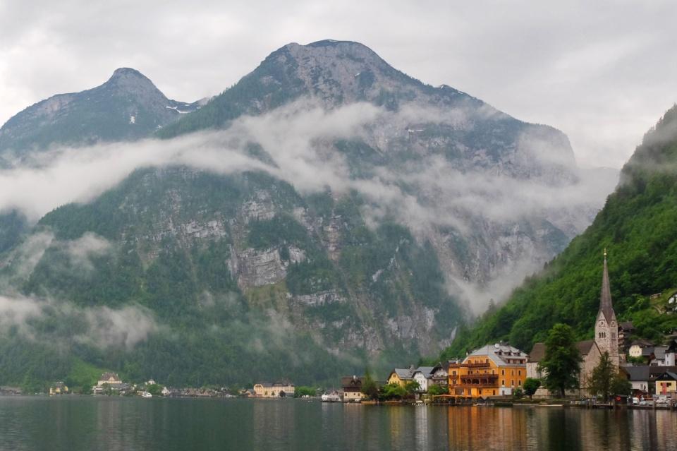 Hallstätter See, Lake Halstatt, Hallstatt, Salzkammergut, Upper Austria, Oberoesterreich, Austria, Oesterreich, UNESCO, World Heritage, fotoeins.com