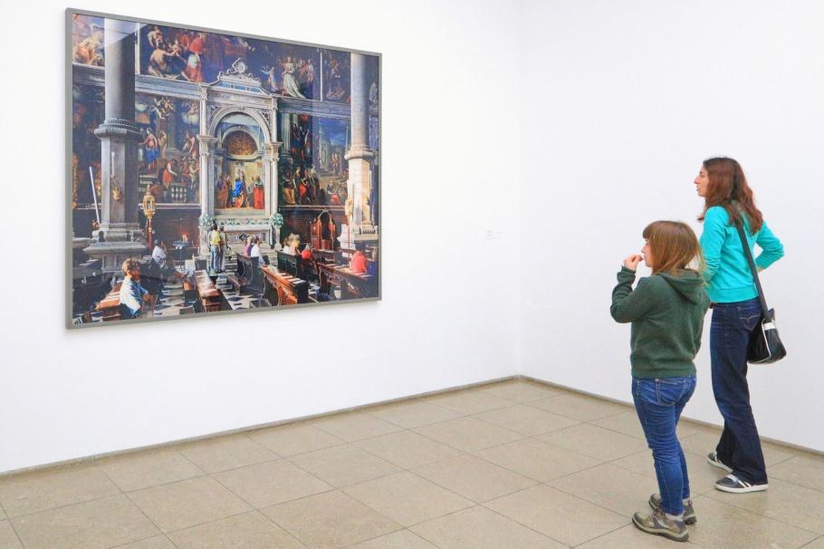 San Zaccaria, Thomas Struth, Hamburger Bahnhof Museum für Gegenwart, Museum for Contemporary Art, Berlin, Hauptstadt, Germany, Deutschland, fotoeins.com