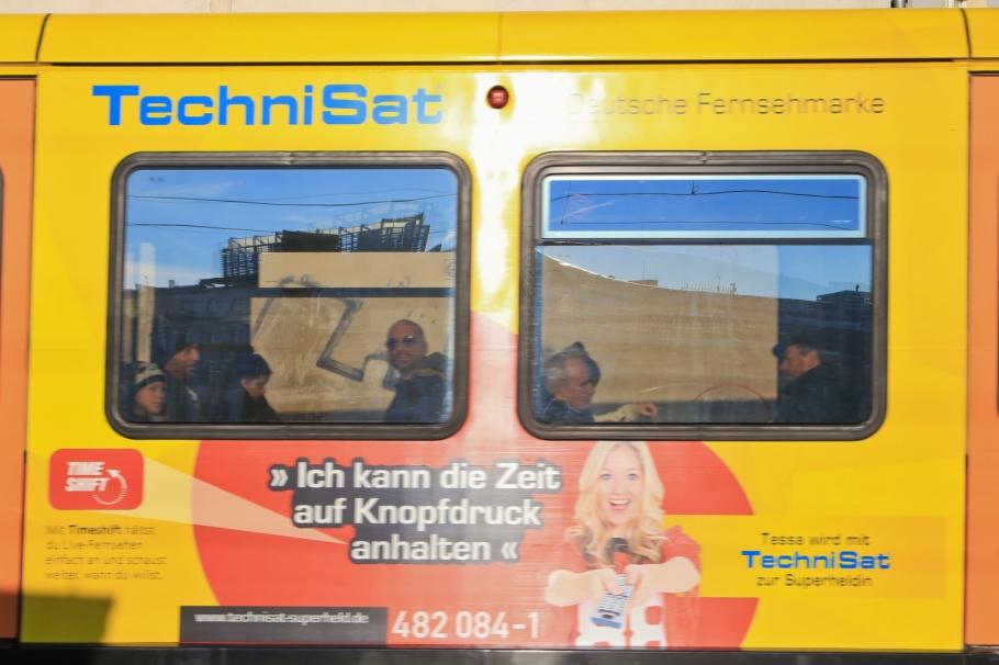 S-Bahn Berlin, Friedrichstrasse station, Bahnhof Friedrichstrasse, Berlin, Hauptstadt, Germany, Deutschland, fotoeins.com