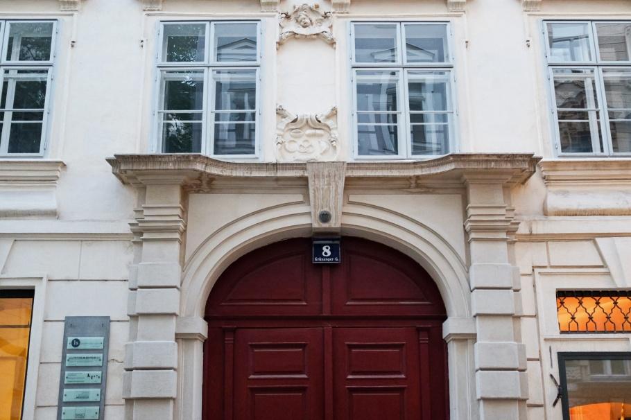 First Kipferl, crescent, croissant, Grünangerstrasse,, Vienna, Wien, Wiener Altstadt, Oesterreich, Austria, fotoeins.com