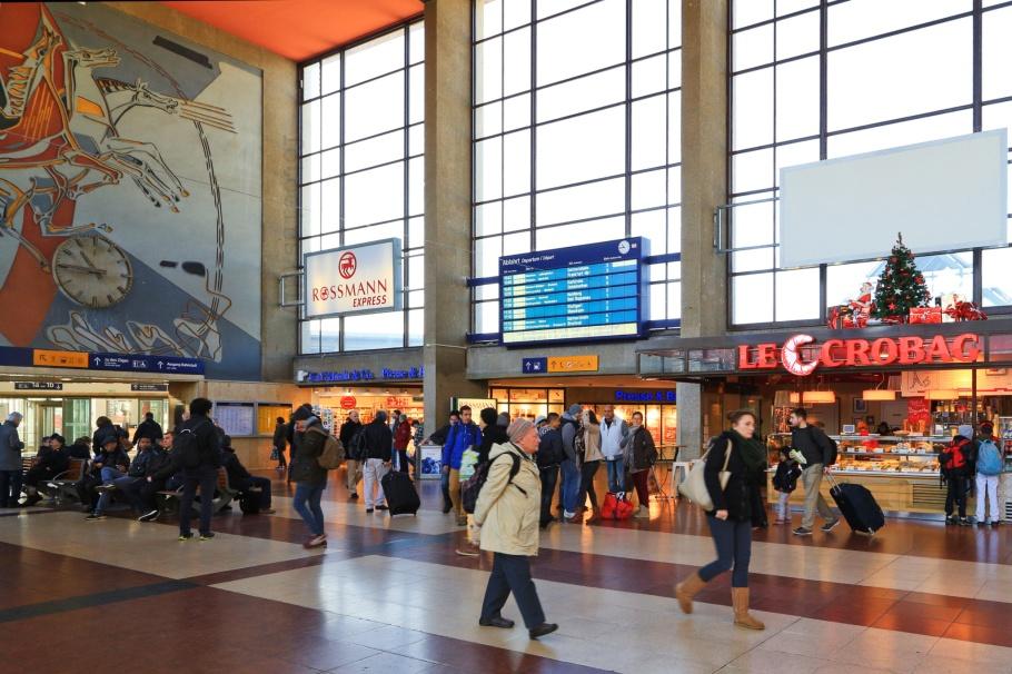 Heidelberg Hauptbahnhof, HD Hbf, Hauptbahnhof, central station, Heidelberg, Baden-Württemberg, Germany, Deutschland, fotoeins.com