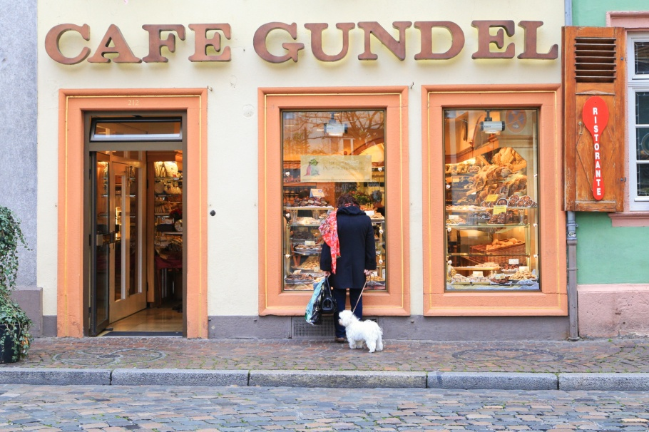 Cafe Gundel, Karlsplatz, Altstadt, Old Town, Heidelberg, Baden-Württemberg, Germany, Deutschland, fotoeins.com