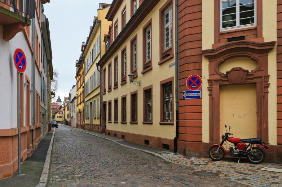 Obere Neckarstrasse,  Leyergasse, Leyertor, Altstadt, Old Town, Heidelberg, Baden-Württemberg, Germany, Deutschland, fotoeins.com
