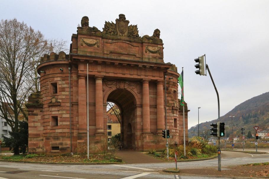 Karlstor, Altstadt, Old Town, Heidelberg, Baden-Württemberg, Germany, Deutschland, fotoeins.com