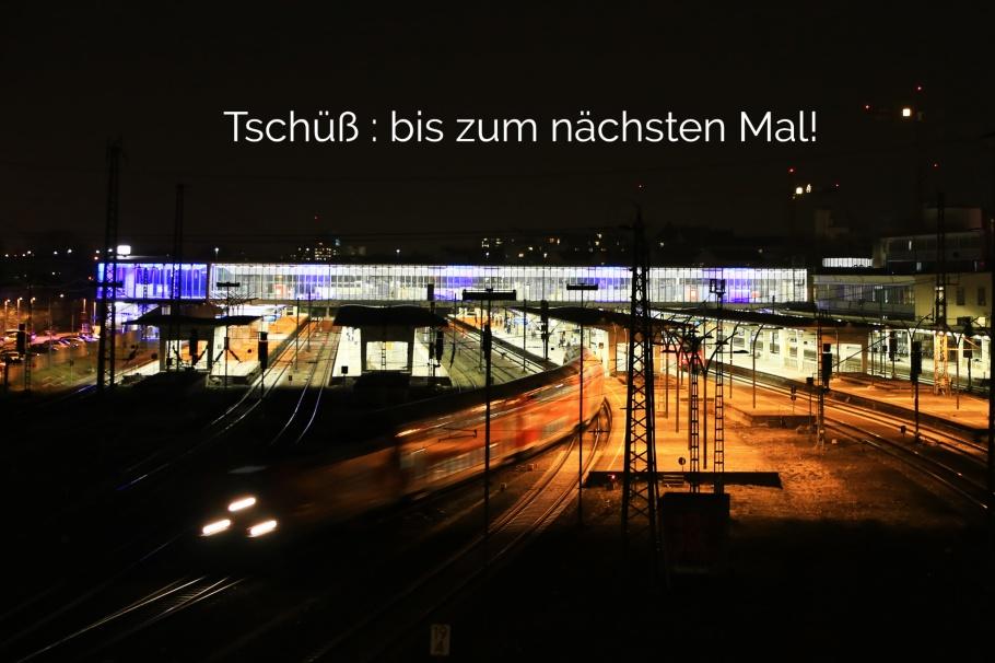 HD Hbf, Montpellierbrücke, Heidelberg Hauptbahnhof, Heidelberg, Baden-Württemberg, Germany, Deutschland, fotoeins.com