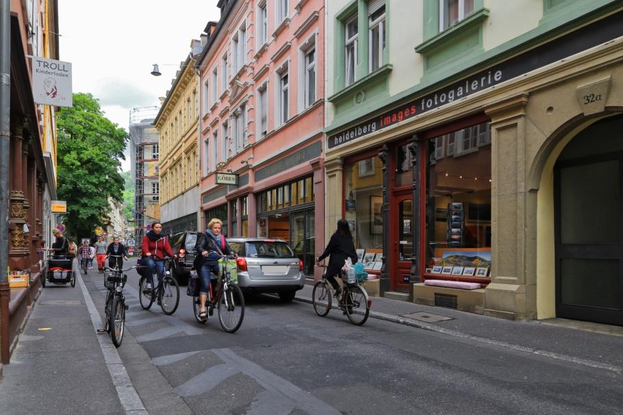 Plöck, Altstadt, Old Town, Alte Brücke, Heidelberger Altstadt, Heidelberg, Baden-Württemberg, Germany, Deutschland, fotoeins.com