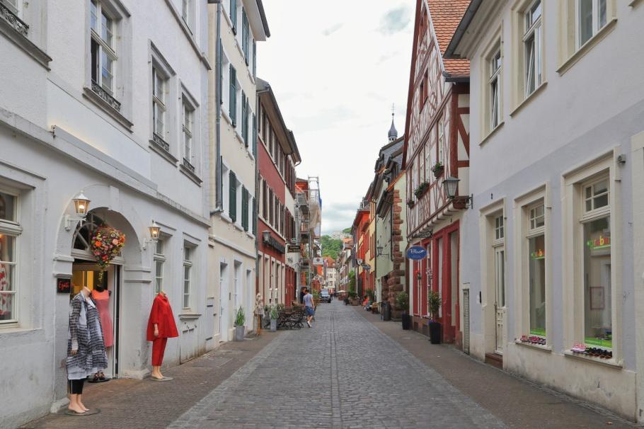 Untere Strasse, Altstadt, Old Town, Alte Brücke, Heidelberger Altstadt, Heidelberg, Baden-Württemberg, Germany, Deutschland, fotoeins.com