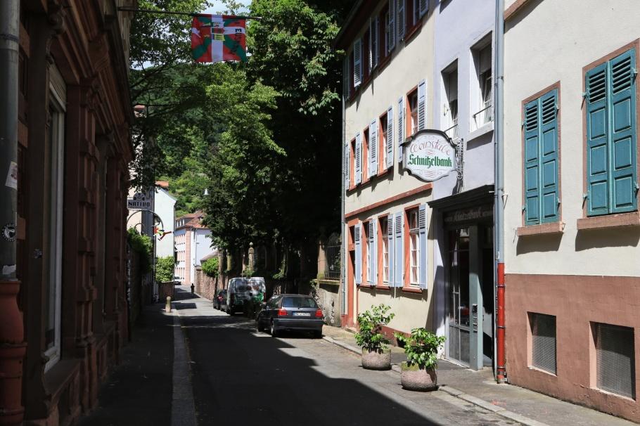 Schnitzelbank, Altstadt, Old Town, Heidelberg, Baden-Württemberg, Germany, Deutschland, fotoeins.com