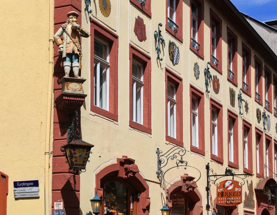 Perkeo, Hauptstrasse, Altstadt, Heidelberg, Germany, Deutschland, fotoeins.com