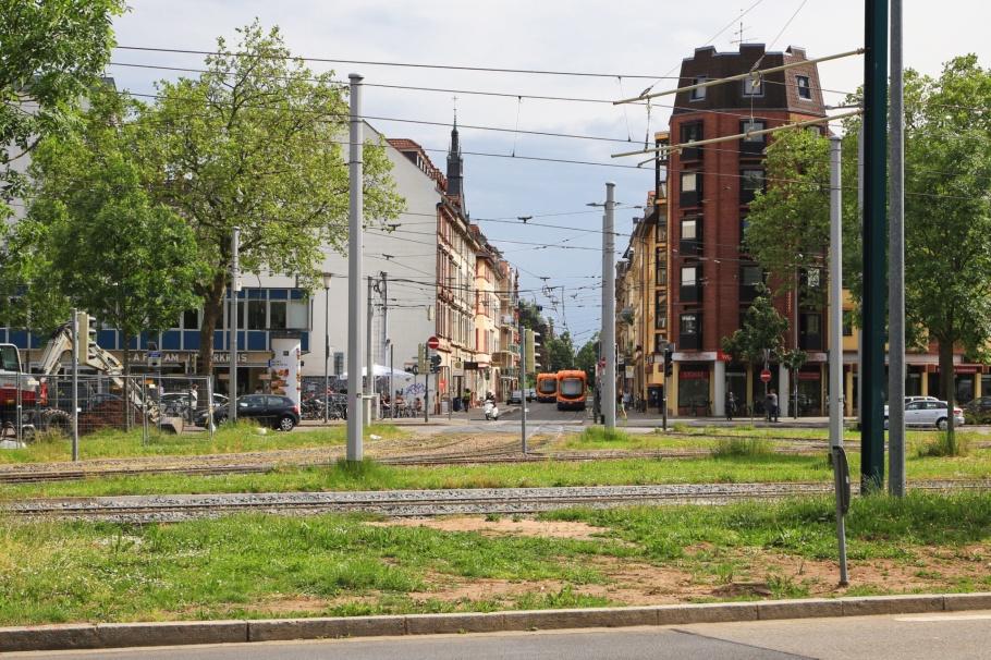 Römerkreis, Römerstrasse, Bergheim, Weststadt, Heidelberg, Baden-Württemberg, Germany, Deutschland, fotoeins.com