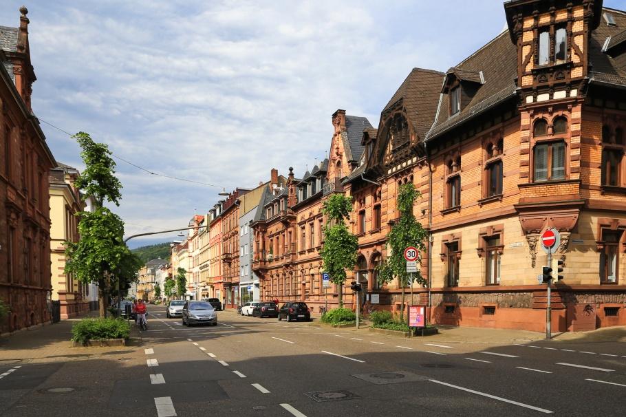 Rohrbacher Strasse, Weststadt, Heidelberg, Baden-Württemberg, Germany, Deutschland, fotoeins.com