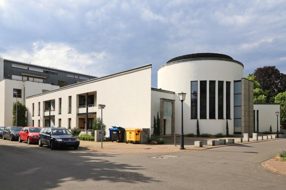 Neue Synagoge, New Synagogue, Weststadt, Heidelberg, Baden-Württemberg, Germany, Deutschland, fotoeins.com