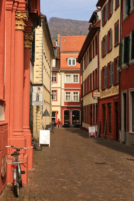 Augustinergasse, Universitätsplatz, Universität Heidelberg, Altstadt, Old Town, Heidelberg, Baden-Württemberg, Germany, fotoeins.com