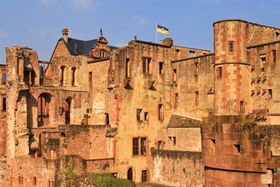 Schloss Heidelberg, Heidelberg Castle, Altstadt, Old Town, Molkenkurweg, Heidelberg, Baden-Württemberg, Germany, fotoeins.com