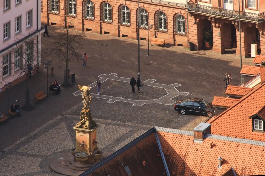 Kornmarkt, Altstadt, Old Town, Heidelberger Altstadt, Heidelberg, Baden-Württemberg, Germany, Deutschland, fotoeins.com