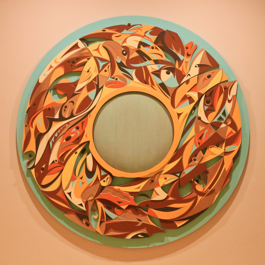 Susan Point, Spindle Whorl, Vancouver Art Gallery, Vancouver, BC, Canada, First Nations, fotoeins.com