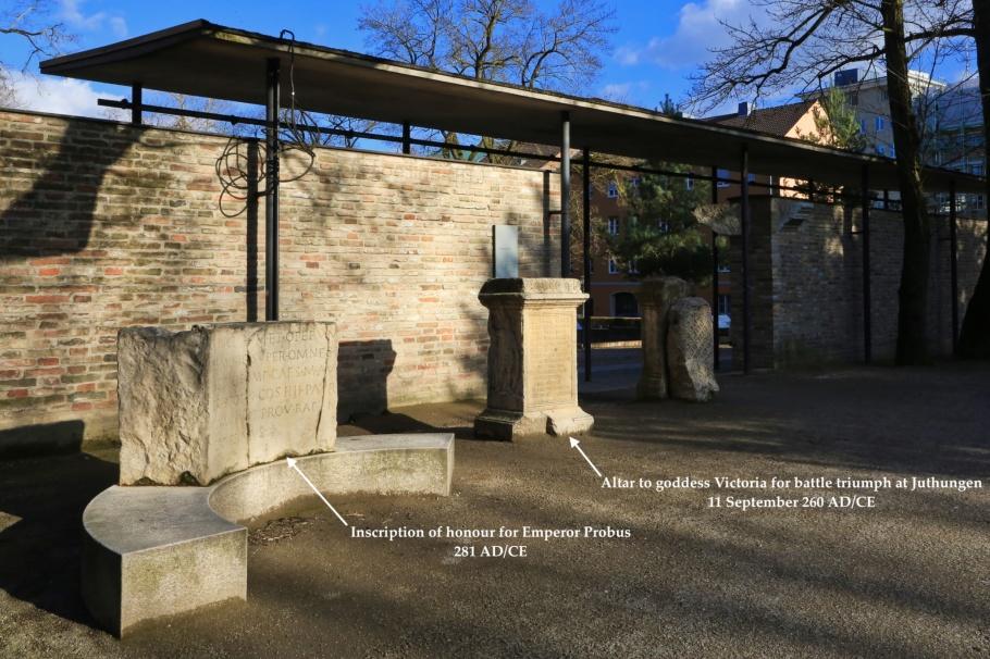 Römermauer, Augsburger Dom, Augsburg, Bayern, Bavaria, Swabia, Schwaben, Germany, Deutschland, fotoeins.com
