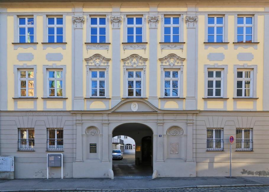 Peutingerhaus, Konrad Peutinger, Augsburg, Bayern, Bavaria, Swabia, Schwaben, Germany, Deutschland, fotoeins.com
