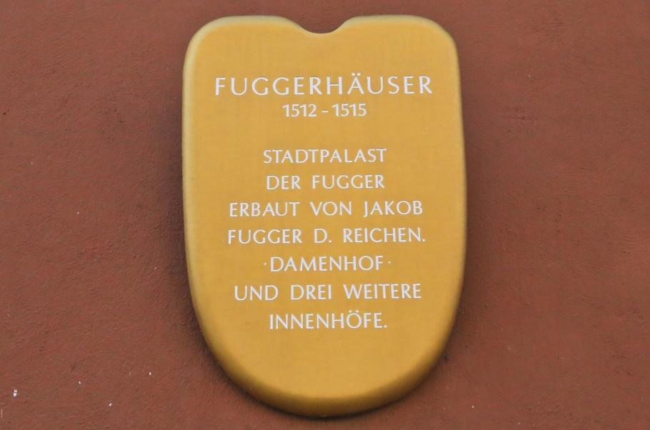 Fuggerhäuser, Jakob Fugger, Augsburg, Bayern, Bavaria, Swabia, Schwaben, Germany, Deutschland, fotoeins.com