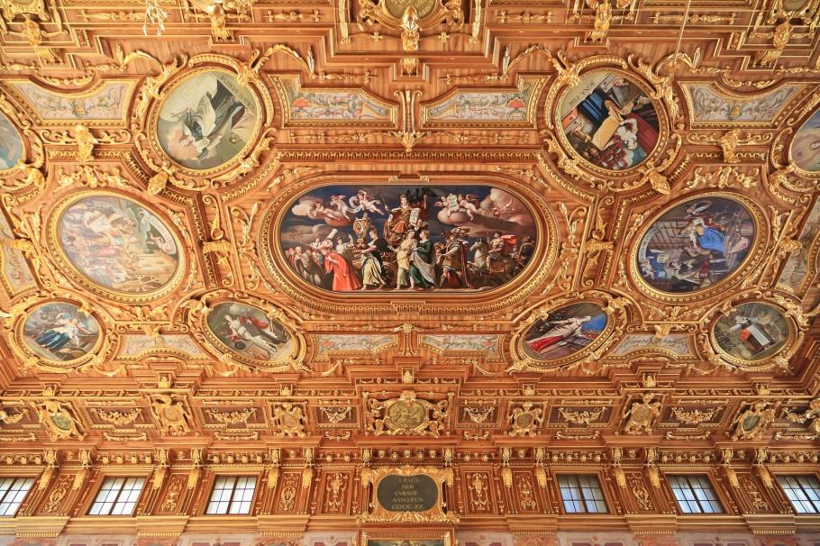 Goldener Saal, Rathaus, Augsburg, Bayern, Bavaria, Swaben, Swabia, Germany, Deutschland fotoeins.com