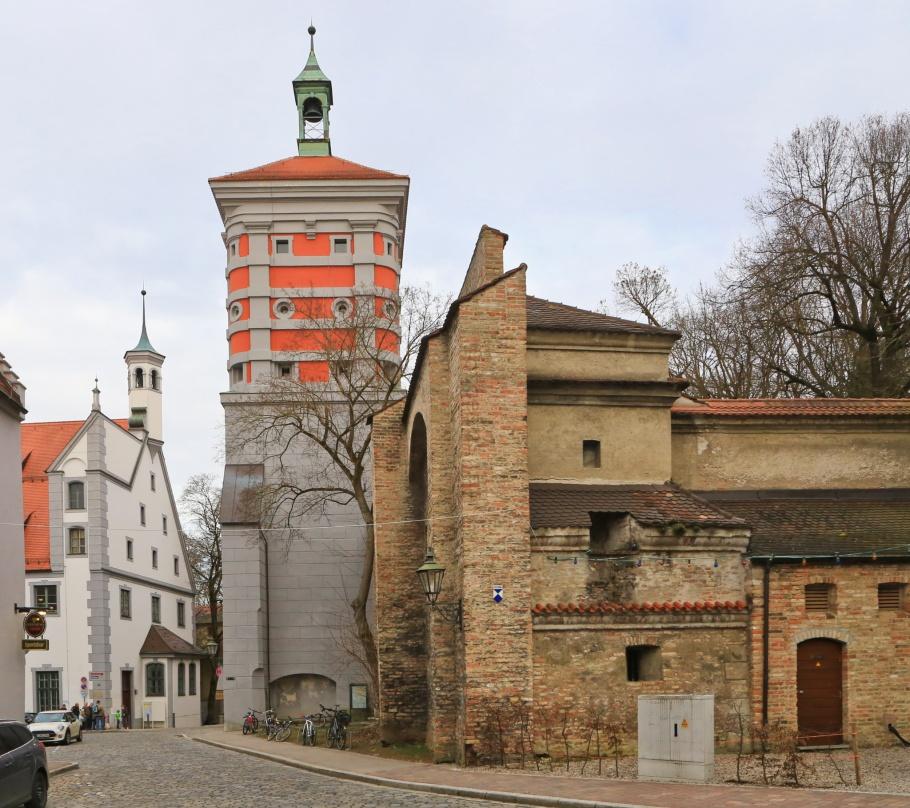 Rotes Tor, Water Management System, Wassersystem, Augsburg, Bayern, Bavaria, Swabia, Schwaben, Germany, Deutschland, fotoeins.com
