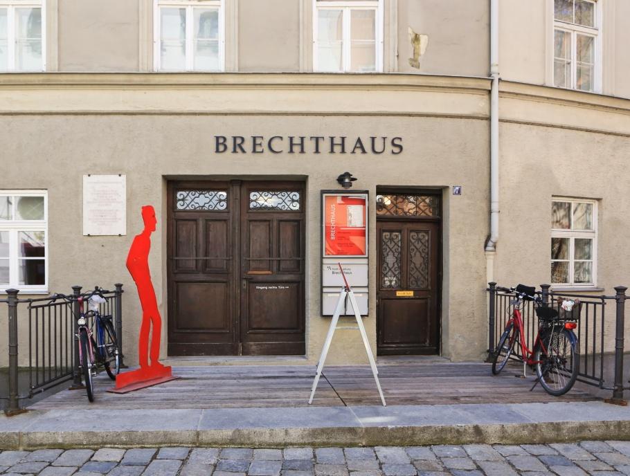 Brechthaus, Bertolt Brecht, Augsburg, Schwaben, Swabia, Bavaria, Bayern, Germany, fotoeins.com