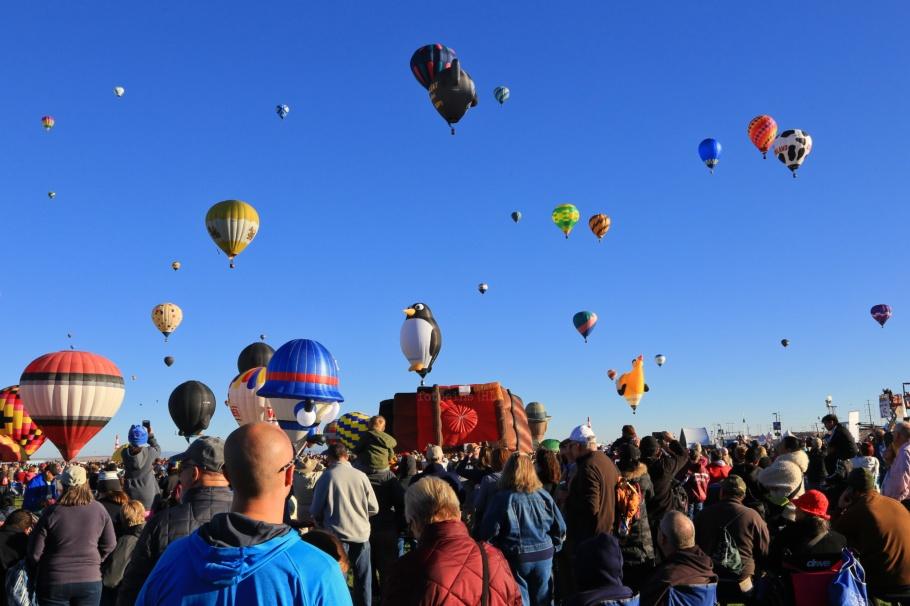 Albuquerque International Balloon Fiesta, Balloon Fiesta, Balloon Fiesta Field, Albuquerque, NM, USA, fotoeins.com