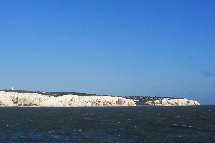 chalk cliffs, White Cliffs, Dover, England, Great Britain, United Kingdom, English Channel, Europe, fotoeins.com