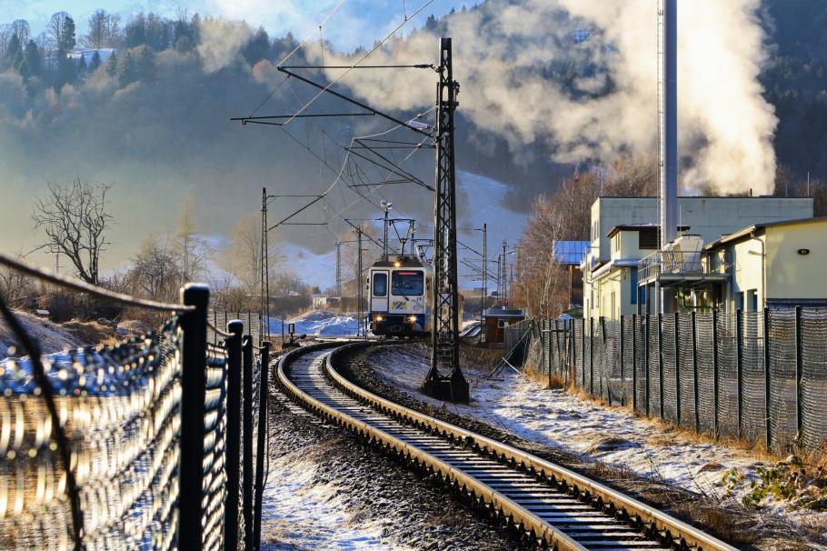 Bayerische Zugspitzbahn Bergbahn, Zugspitzbahn, Garmisch-Partenkirchen, Bayern, Bavaria, Oberbayern, Upper Bavaria, Germany, Deutschland, fotoeins.com