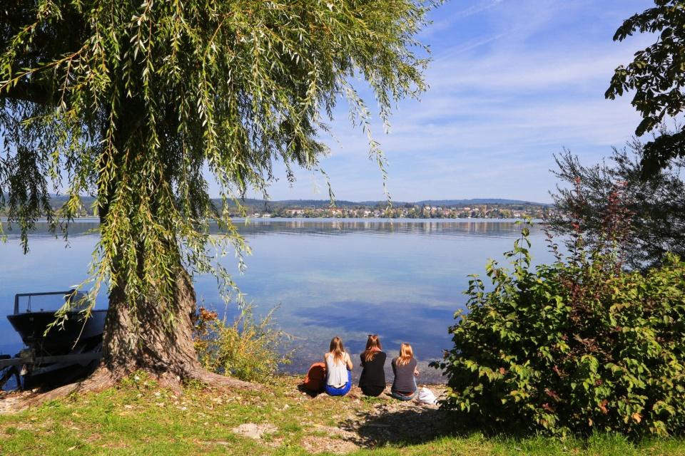 Reichenau, Reichenau Island, Untersee, Bodensee, Lake Constance, Konstanz, Constance, Baden-Württemberg, Germany, Deutschland, fotoeins.com