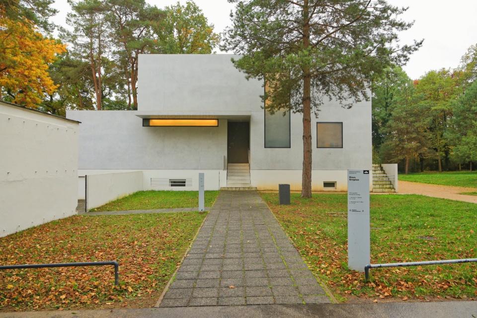 Meisterhäuster, Gropiushaus, Masters Houses: Gropius House, Bauhaus, Bauhaus100, Dessau, Dessau-Rosslau, Saxony-Anhalt, Sachsen-Anhalt, Deutschland, fotoeins.com