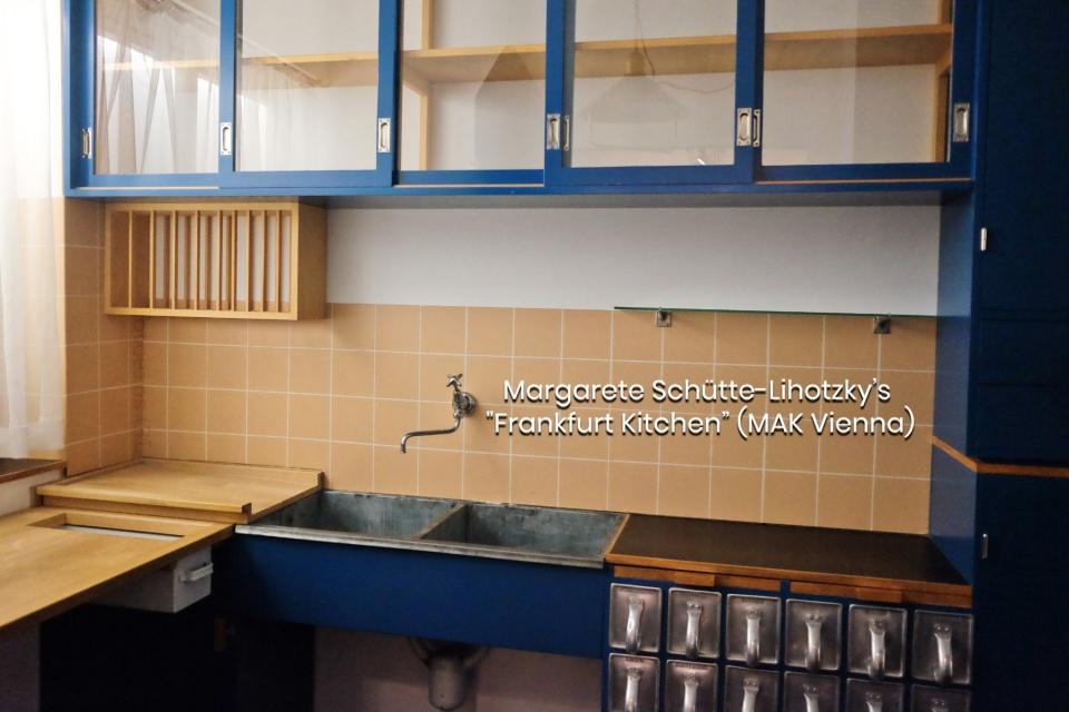 Frankurter Küche, Frankfurt kitchen, Margarete Schütte-Lihotzky, MAK Vienna, Vienna, Wien, Austria, Österreich, fotoeins.com