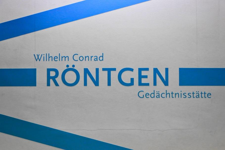 Röntgen Gedächtnisstätte, Röntgen Memorial Site, Wilhelm Conrad Röntgen, X-rays, Nobel Prize, Würzburg, Bavaria, Bayern, Germany, Deutschland, fotoeins.com