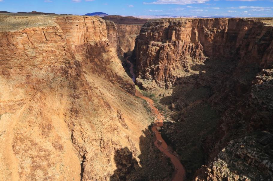 Little Colorado River Gorge Lookout, Little Colorado River Gorge Navajo Tribal Park, Navajo Nation, Little Colorado River, Colorado Plateau, Arizona, USA, fotoeins.com