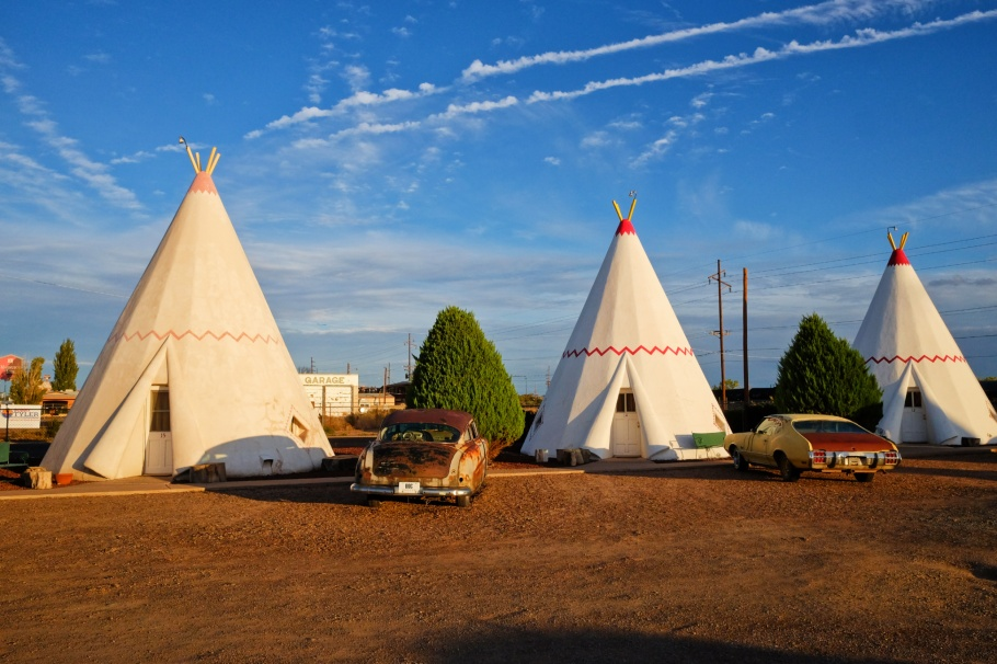 Wigwam Motel, Holbrook, Arizona, USA, US 66, US route 66, fotoeins.com