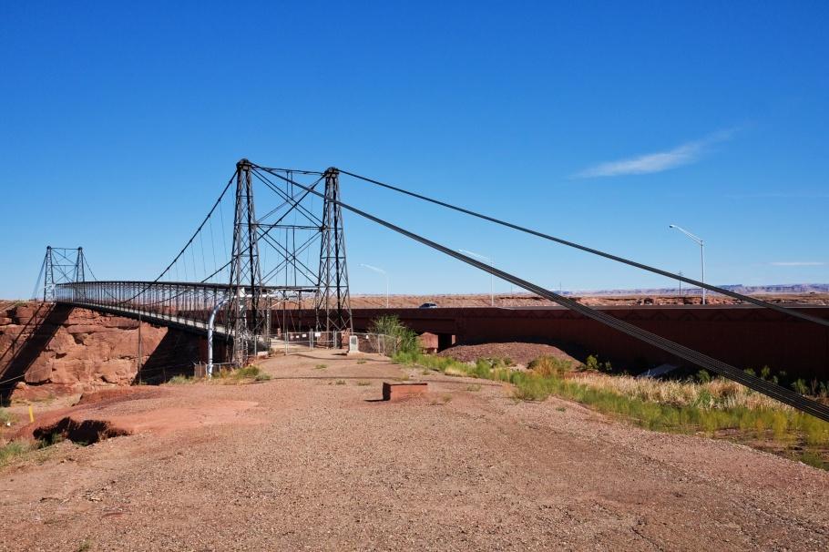 Cameron, Tanner's Crossing, Little Colorado River, US 89, US Route 89, Navajo Nation, Arizona, USA, fotoeins.com