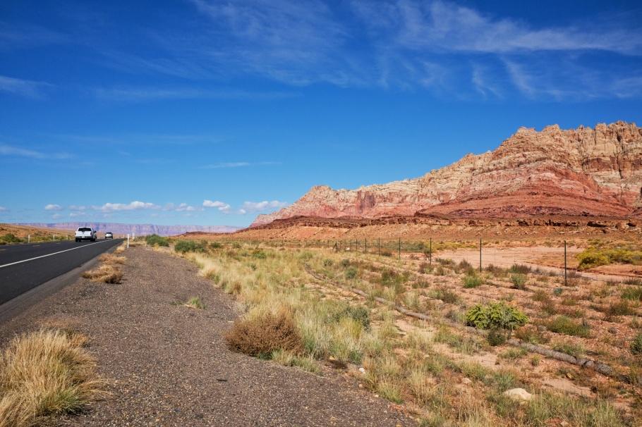 Echo Cliffs, Vermilion Cliffs, Colorado Plateau, US 89, US Route 89, Arizona, USA, fotoeins.com
