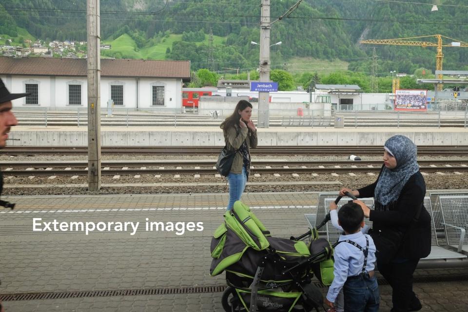 Österreichische Bundesbahnen, ÖBB, Jenbach, Tirol, Tyrol, Österreich, Austria, fotoeins.com