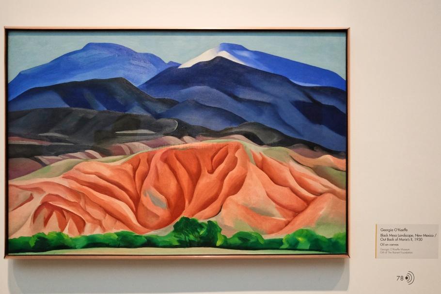Georgia O'Keeffe Museum, Santa Fe, New Mexico, USA, fotoeins.com