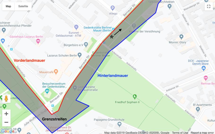 Berliner Mauer, Bernauer Strasse, Versöhnungskapelle, Berlin.de