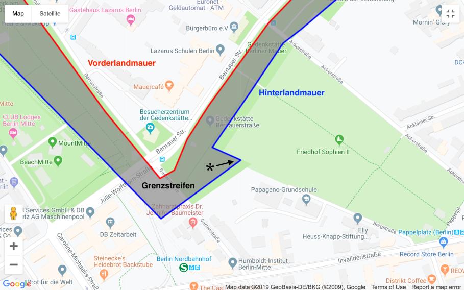 Berliner Mauer, Bernauer Strasse, Berlin.de