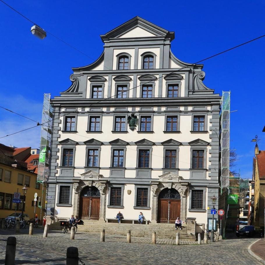 Stadtmetzg, Metzg, Augsburg, Schwaben, Swabia, Bavaria, Bayern, Germany, fotoeins.com