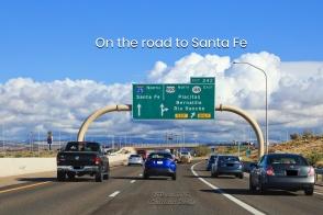I-25, Albuquerque, Santa Fe, New Mexico, USA, fotoeins.com
