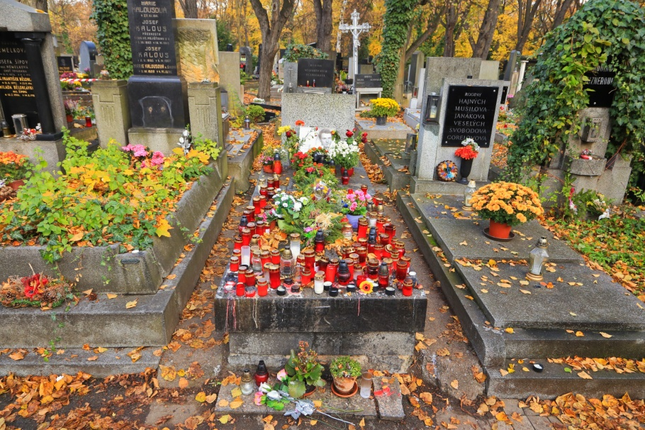Hrob Jana Palacha, Jan Palach, Olšany Cemetery, Olšanské hřbitovy, Prague, Prag, Praha, Czech Republic, fotoeins.com