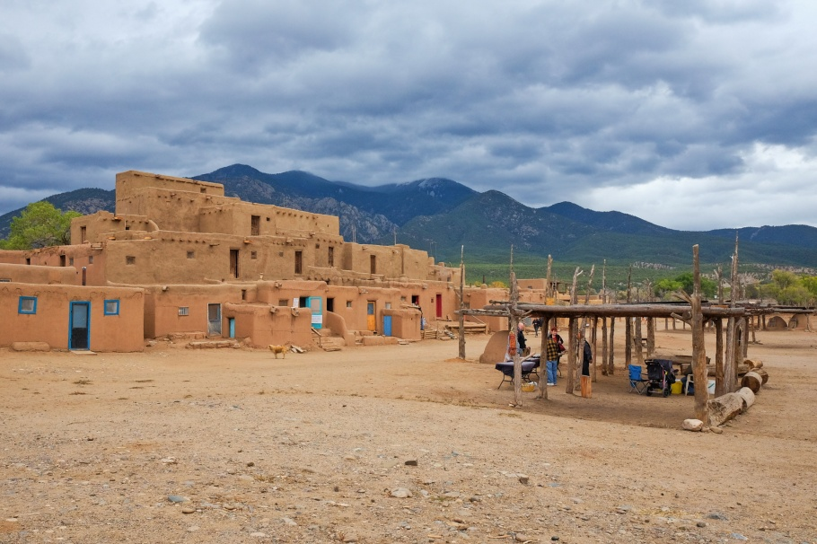 Taos Pueblo, UNESCO, World Heritage, New Mexico, USA, fotoeins.com