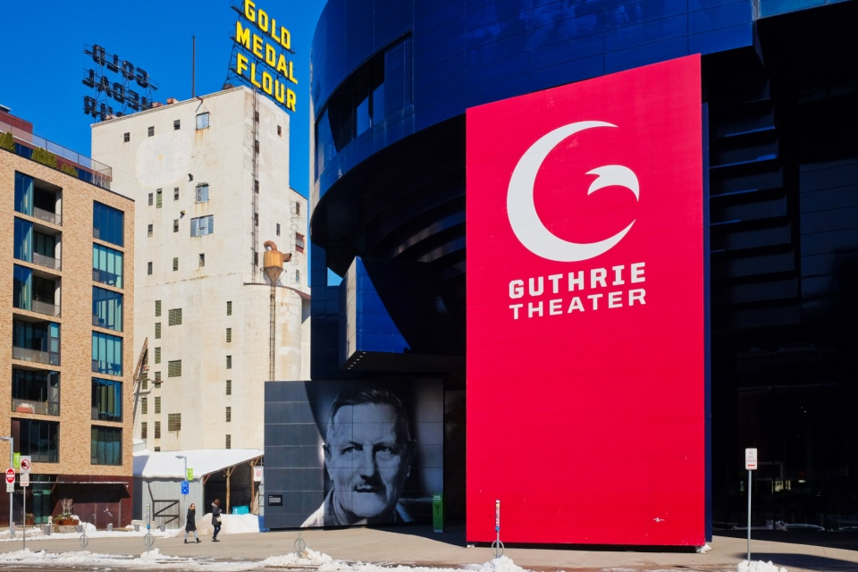 Guthrie Theater, Gold Medal Flour, Mill City Museum, Minneapolis, Twin Cities, Minnesota, USA, fotoeins.com